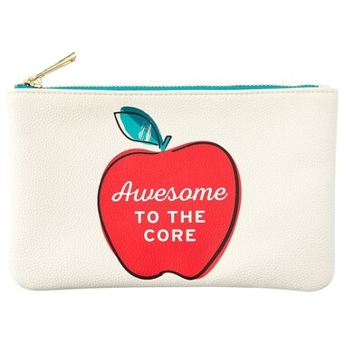 TEACHER POUCH AWESOME WHITE