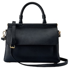 LOVE AND LORE SOPHIA TOP HANDLE HANDBAG BLACK 13c0b8421ba11