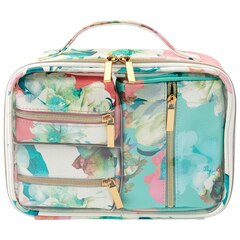 LOVE AND LORE 4-PIECE COSMETIC TRAVEL SET CAPRI FLORAL