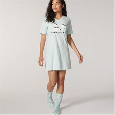 LOVE AND LORE ESSENTIAL SLEEP SHIRT HEAD IN THE CLOUDS SMALL-MEDIUM