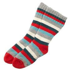 KID'S FAMILY STRIPE READING SOCKS™ 9-12 YEARS