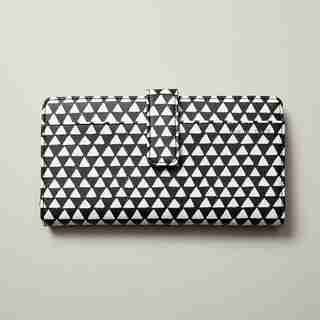 LOVE AND LORE TAB TRAVEL WALLET TRIANGLES