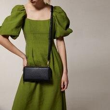 Love And Lore Travel Wallet Crossbody Bag Black