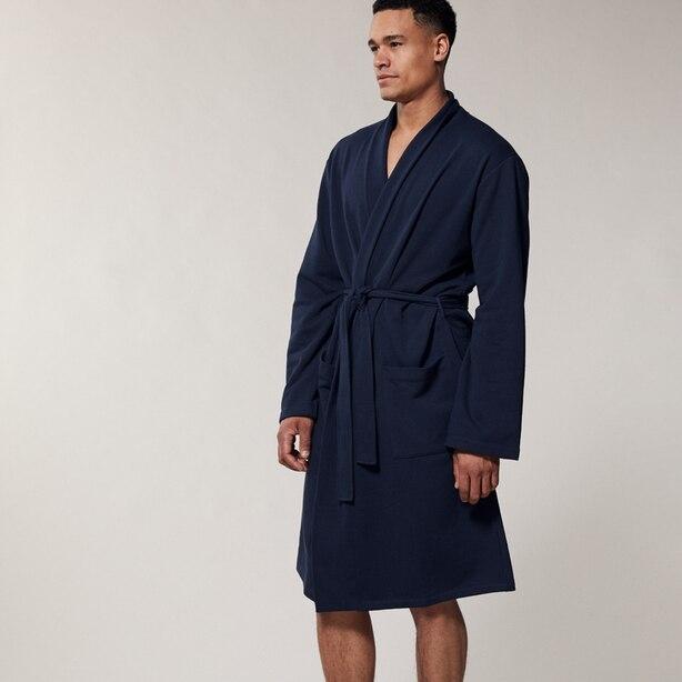 Indigo Essential Robe Dark Navy Small/Medium