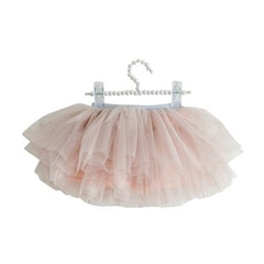 Olivia Rose Tiered Tutu Pink Glitter 3 to 6 Months