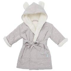IndigoBaby Robe Grey Bear 0 to 12 Months