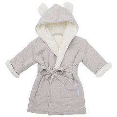IndigoBaby Robe Grey Bear 0 to 12 Months