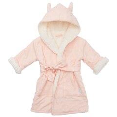 IndigoBaby Robe Pink Cat 0 to 12 Months