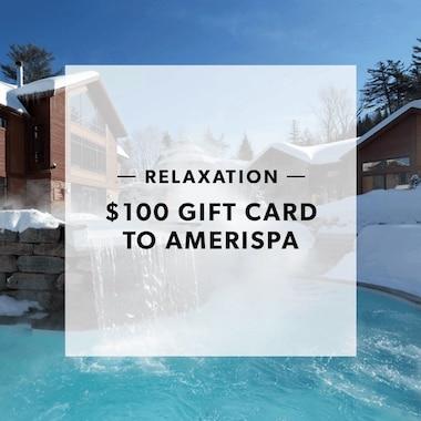 $100 GIFT CARD TO AMERISPA
