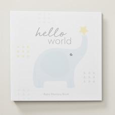 Hello World Baby Memory Book