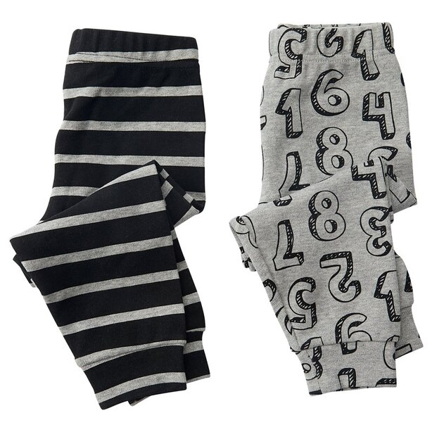IndigoBaby Pants Numbers 0 to 3 Months (Set of 2)