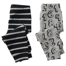 IndigoBaby Pants Numbers 3 to 6 Months (Set of 2)