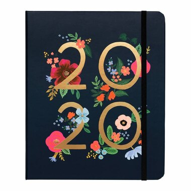 2019-2020 17-Month Planner Wildrose