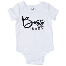 IndigoBaby Onesie Boss Baby 3 to 6 Months
