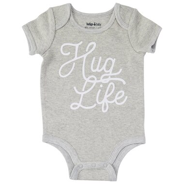 IndigoBaby Onesie Hug Life 6 to 12 Months