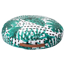 OUTDOOR ROUND POUF – DOT LEAF