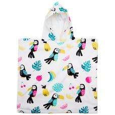 IndigoKids Poncho Towel Tropical
