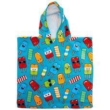 IndigoKids Poncho Towel Popsicle