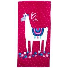 IndigoKids Beach Towel Llama