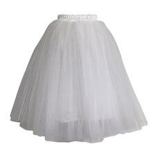 Olivia Rose® Tulle Skirt White Adult