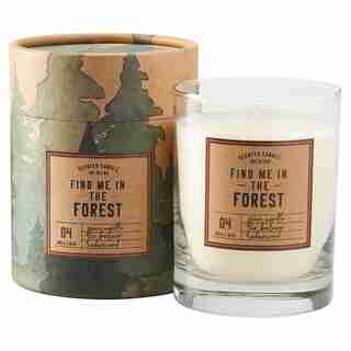 THE FOREST GLASS CANDLE