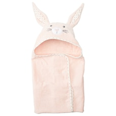 IndigoBaby Hooded Towel Bunny