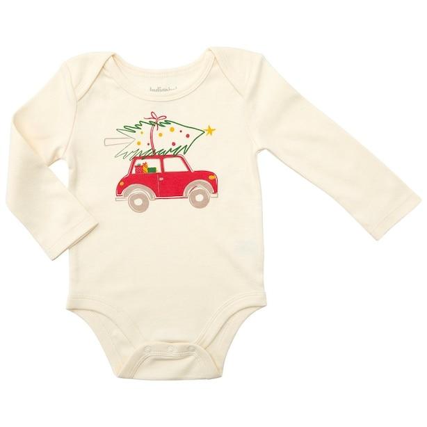 Festive Car Onesie 12-18 Months