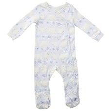 Soft Blue Fair Aisle Sleeper 6-12 Months