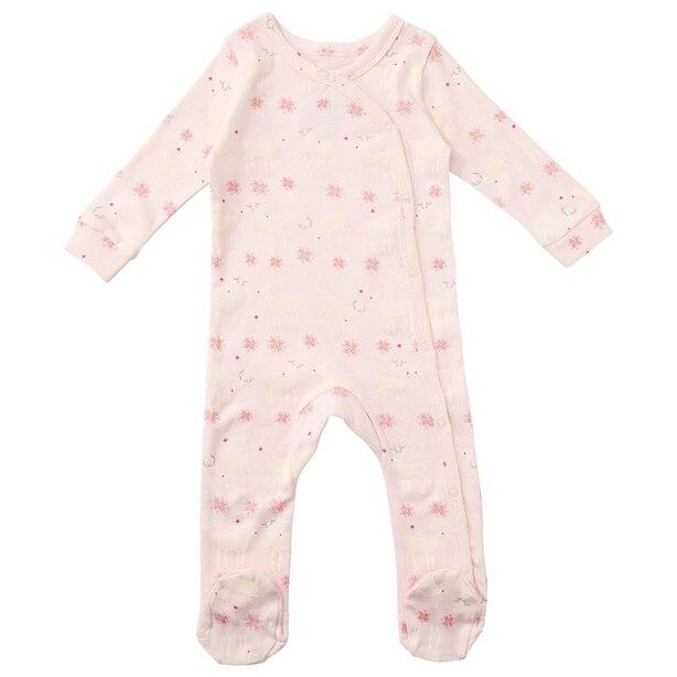 Pink Fair Aisle Sleeper 0-3 Months