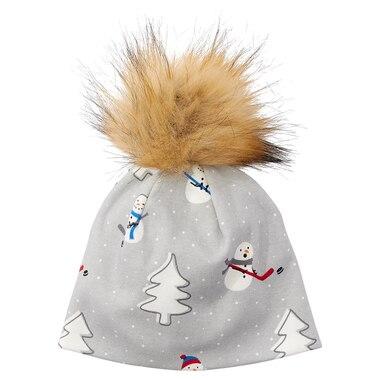 Hockey Snowman Hat 0-12 Months
