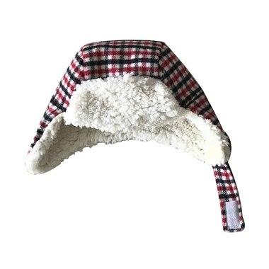 Mini Plaid Trapper Hat 0-6 Months