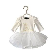 Olivia Rose ® My 1st Christmas Tutu Dress 3-6 months