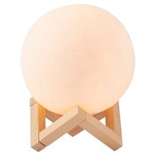 MOON LIGHT WITH WOODEN STAND