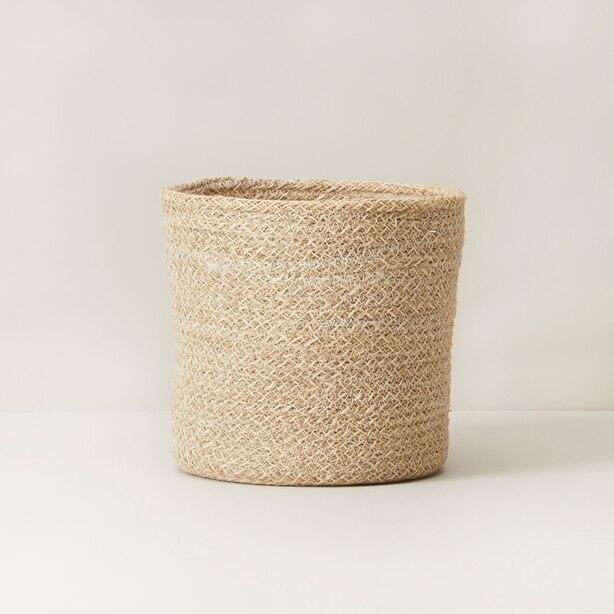 Design Ideas Melia Medium Basket Natural