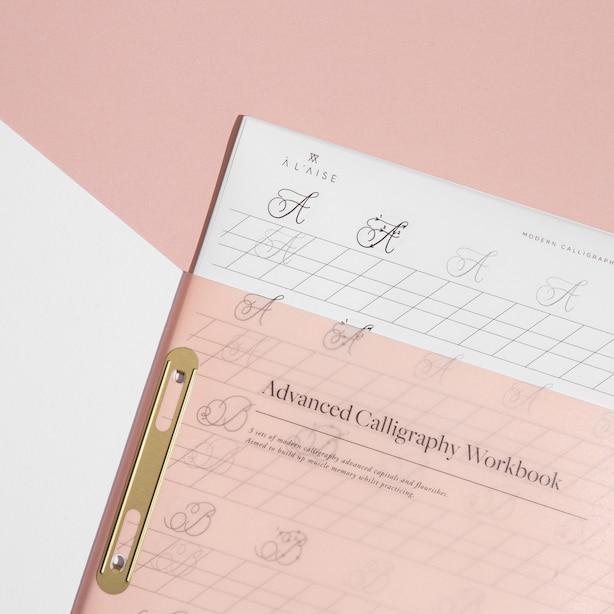Advanced Modern Calligraphy Workbook