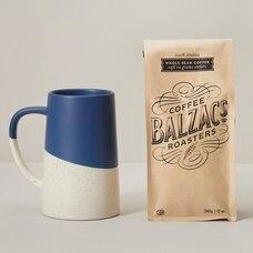 FATHER'S DAY MUG & BALZAC'S COFFEE GIFT SET BLUE