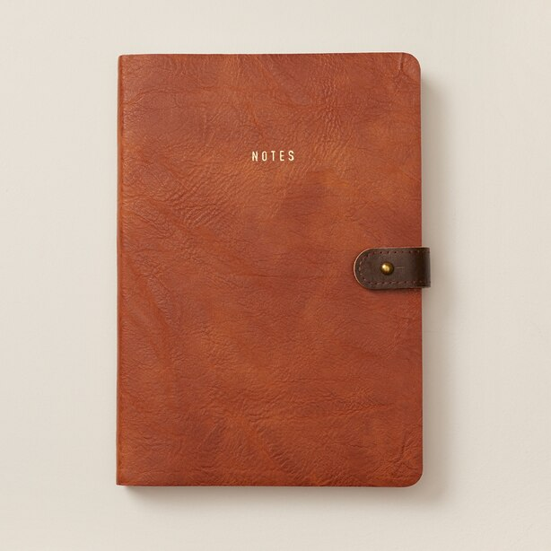 ULTRA FLEXI BUTTON JOURNAL CALI COAST COGNAC