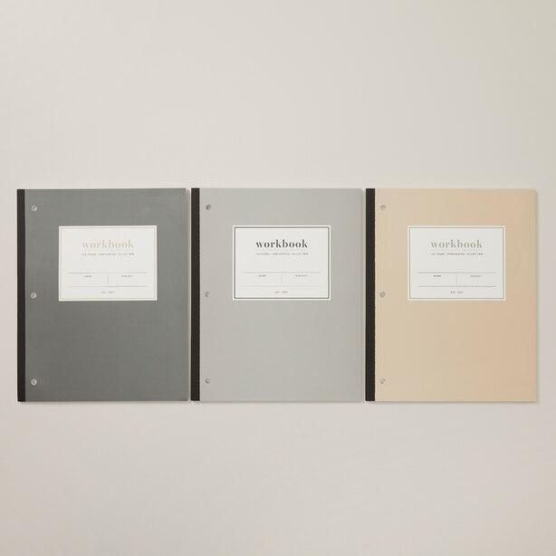 SET OF 3 WORKBOOKS CALI COAST GREY