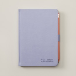 NōTA ARCHETYPE HARDCOVER JOURNAL WITH PENCIL LAVENDER
