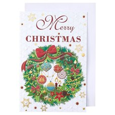 Holiday Boxed Cards Christmas Wreath
