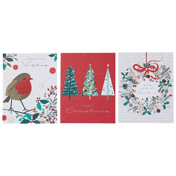 Holiday Boxed Cards 3 Assorted Designs