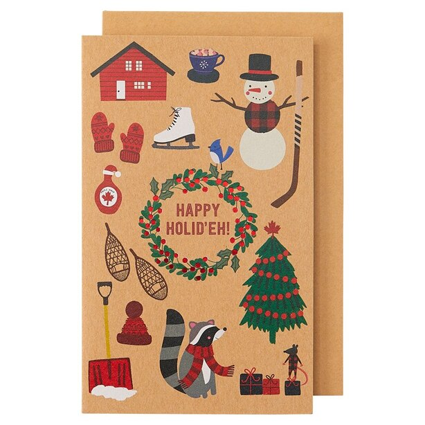 Holiday Boxed Cards Canadiana Icons