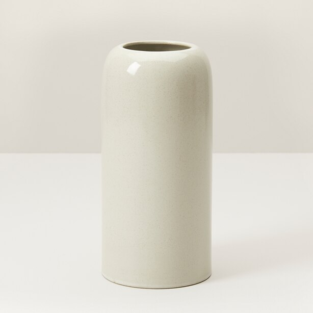 DOMED MEDIUM VASE – IVORY