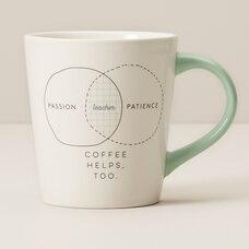 PASSION PATIENCE COFFEE TEACHER MUG