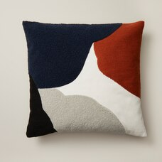 "OUI ABSTRACT PILLOW COVER MULTI 18"" X 18"""