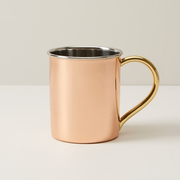OUI SIMPLE COPPER MULE MUG