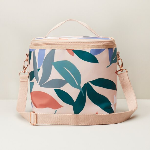 INSULATED LUNCH BAG FLORAL PRINT