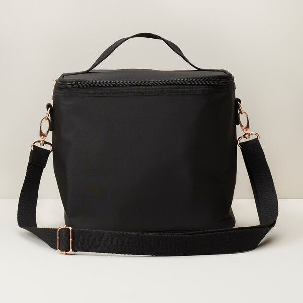 INSULATED LUNCH BAG BLACK