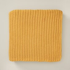 OUI RECYCLED KNIT THROW BLANKET SUNFLOWER