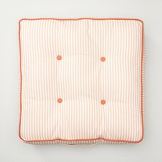 INDOOR/OUTDOOR TUFTED LOUNGE PILLOW, PEACHES